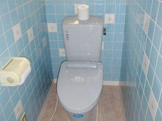 トイレリフォーム 和式から洋式へ、すっきりしたトイレ空間