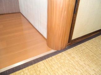 小工事 床の間をリフォームして仏壇スペースに