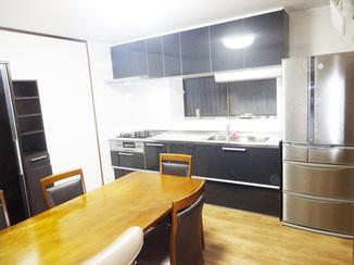 キッチンリフォーム キッチンと内装リフォームで素敵なダイニングキッチンに