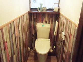 トイレリフォーム センス抜群!まるでお店のようなお洒落なトイレ