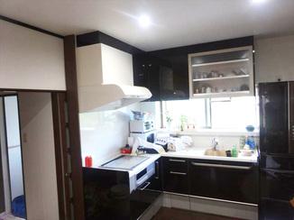 キッチンリフォーム レイアウトを変えてイメージを一新!使い勝手の良いL型仕様になったキッチン