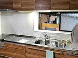 キッチンリフォームパネル張りでお手入れしやすいキッチン