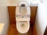 トイレリフォーム予算を抑えながらも掃除しやすくグレードアップしたトイレ
